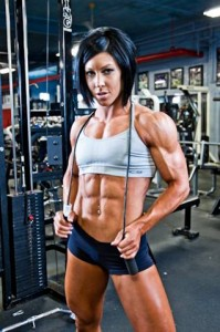 building muscle women
