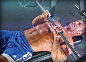strength training close grip bench press