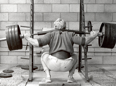 squat strength training